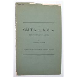 The Old Telegraph Mine Booklet