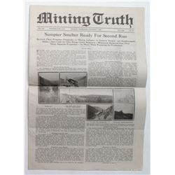 Mining Truth Newspaper