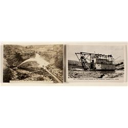 Canadian Hydraulic Mining Postcards