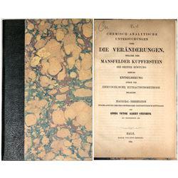 Die Veranderungen (German Chemistry Dissertation)