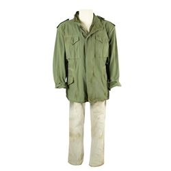 Ludlow (Josh Gad) Hero Distressed DARPA Jacket & Jeans from Pixels