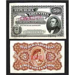 Republica Argentina. 1895 Issue.
