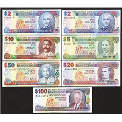 Central Bank of Barbados. 1998 NH Issue.