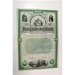 Compania Unida de los Ferro-Carriles de Caesarian, 1893.