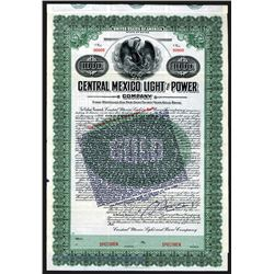 Central Mexico Light and Power Specimen Bond With Additional Endorsement