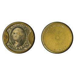 J. Gault Plain Frame, 12 Cents, Encased Postage.