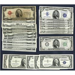 Silver Certificate and United States Note selection.