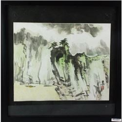 WC Painting Paper w/Frame Xie Zhiliu 1910-97