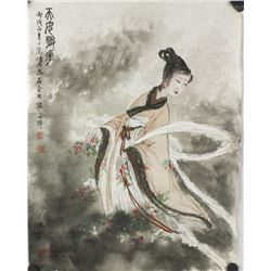 WC Beauty on Paper Fu Baoshi 1904-1965