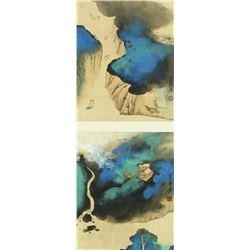 Chinese WC Landscape Zhang Daqian 1899-1983
