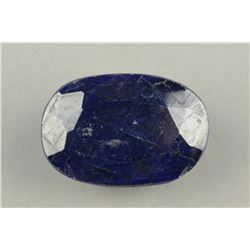 Natural Metallic Sheen Blue Sapphire Stone