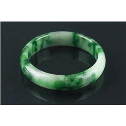 Chinese Spinach Green Jadeite Bangle