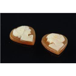Genuine Cameo Heart Gemstone Retail $110