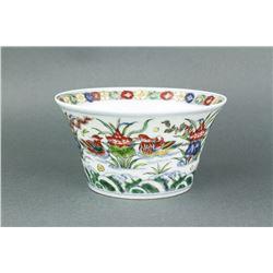 Chinese Wucai Porcelain Bowl Xuande MK