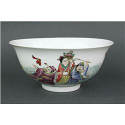 Chinese Famille Rose Porcelain Bowl Qianlong MK