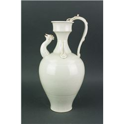 Chinese Chicken-head Porcelain Ewer Song/Yuan Styl