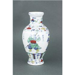 Chinese Doucai Porcelain Vase Chenghua MK