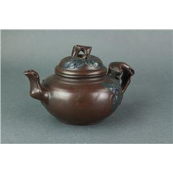 Chinese Zisha Tea Pot Gu Shuifang Zhi Marked