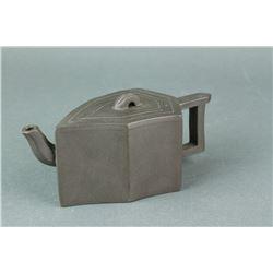 Chinese Zisha Tea Pot Artist Marked