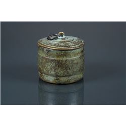 Chinese Bronze Vessel with Cover Ming