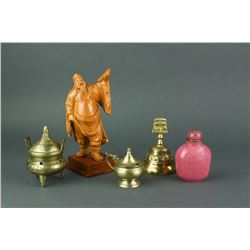 5 Pc Chinese Miscellaneous Deco Items