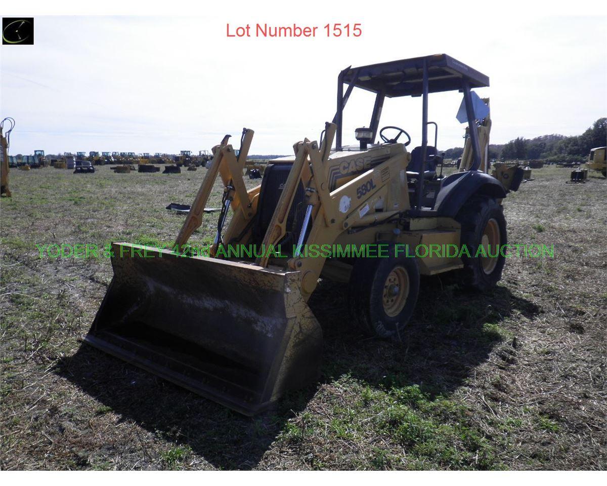 1997 Case 580L Loader Backhoe, Sn  JJG0237175, Cummins 4 cyl  dsl  eng