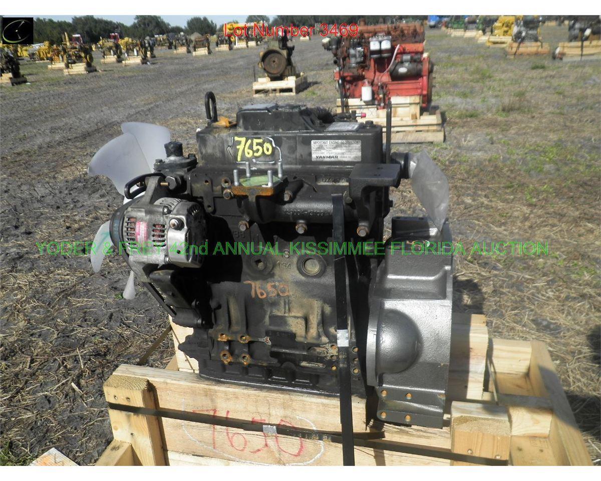 Yanmar 3TNV88 Diesel Engine, Sn  28044, fits Takeuchi, JD (7499)