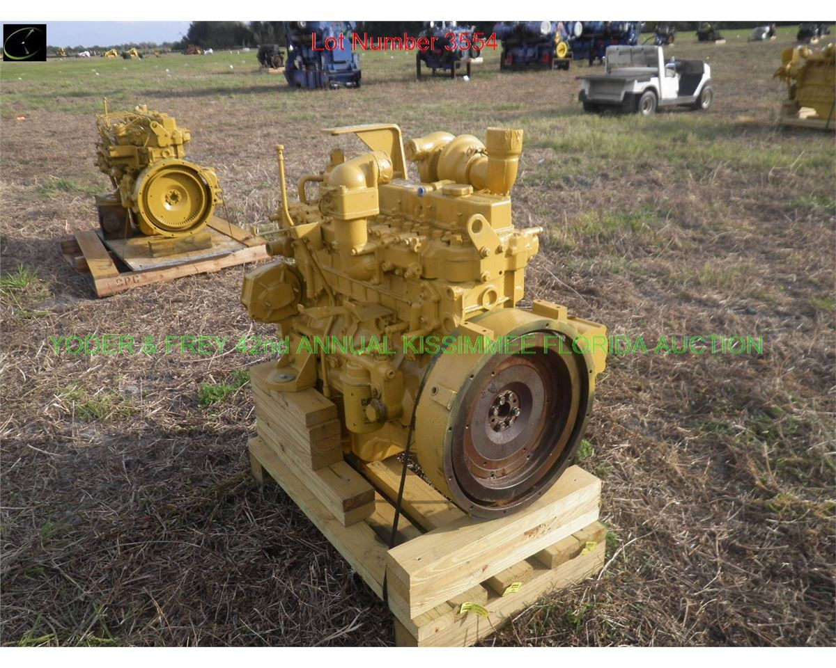 Caterpillar 3046 Diesel Engine, Pn  2228278, fits 315  (Y01)