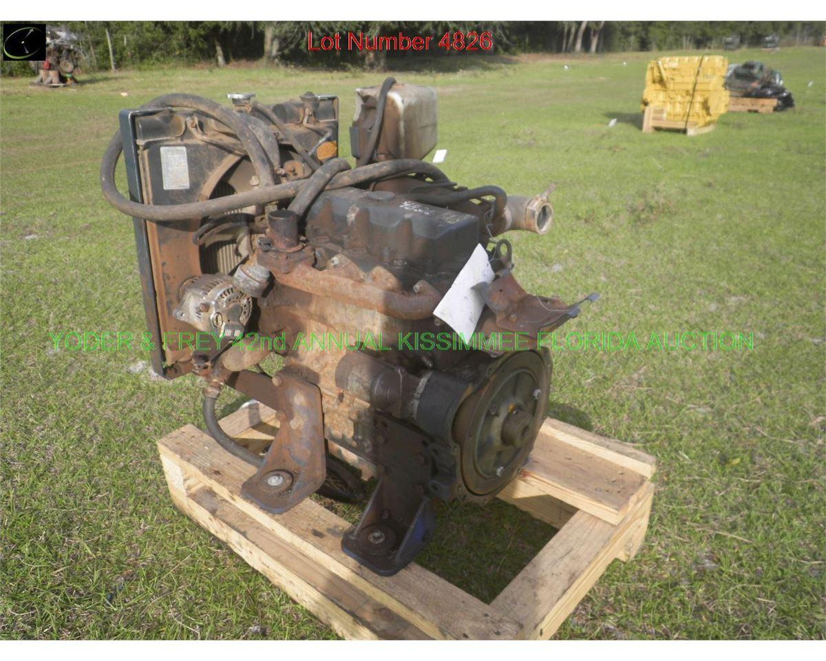 Kubota V2203-M-EU32 Diesel Engine, Sn  YKBXL022FCD, 4 cyl
