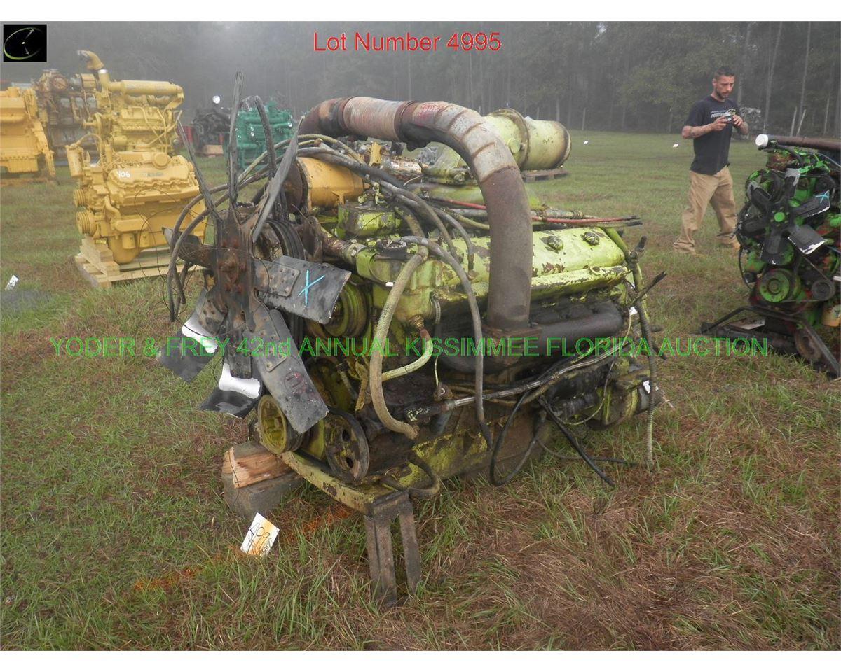 Detroit 871 V12 Diesel Engine 12 Cyl