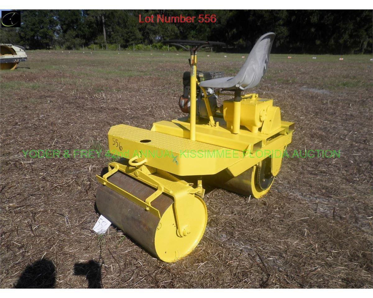 Rollpac Tandem Roller, Sn  3809