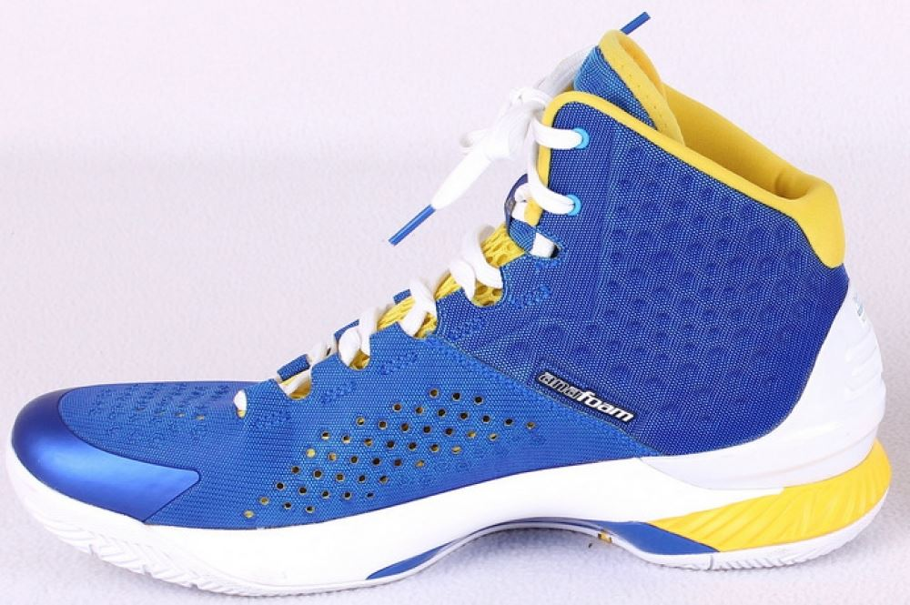 ee71e360559 ... Image 3 : Stephen Curry Signed Warriors Under Armour Game Model Basketball  Shoe (Curry Hologram ...