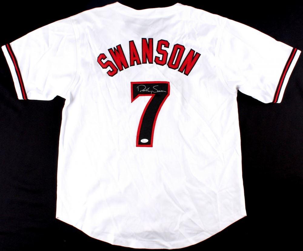 ae7371ee9 Image 1   Dansby Swanson Signed Diamondbacks Jersey (JSA) ...
