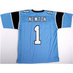 wholesale dealer d6d13 42953 Cam Newton Panthers On-Field Style Custom Stitched Jersey ...