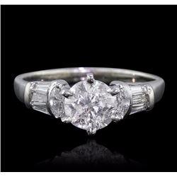14KT White Gold 1.53 ctw Diamond Ring