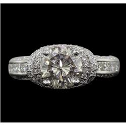 18KT White Gold 2.54 ctw Diamond Ring