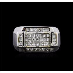 2.55 ctw Diamond Ring - 18KT White Gold
