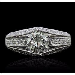 18KT White Gold 1.80 ctw Diamond Ring