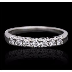 14KT White Gold 0.25 ctw Diamond Ring