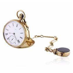 JW Benson 18KT Yellow Gold Pocketwatch