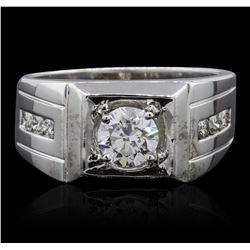 14KT White Gold 1.47 ctw Diamond Ring