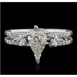 18KT White Gold 1.41 ctw Diamond Ring