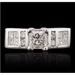 14KT White Gold 1.92 ctw Diamond Ring