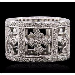 14KT White Gold 2.30 ctw Diamond Ring