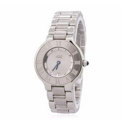Cartier Must De 21 Stainless Steel Watch
