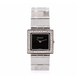 Gucci Stainless Steel Diamond Watch