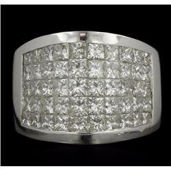 18KT White Gold 3.50 ctw Diamond Ring