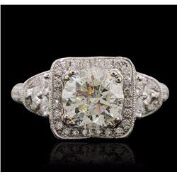 18KT White Gold 3.01 ctw Diamond Ring