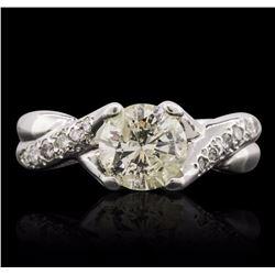 14KT White Gold 1.67 ctw Diamond Ring