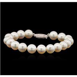 Fresh Water Pearl Bracelet - 14KT White Gold